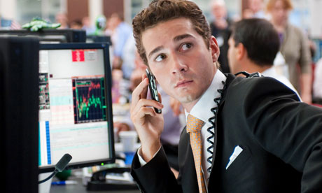 Forex traders on wall street