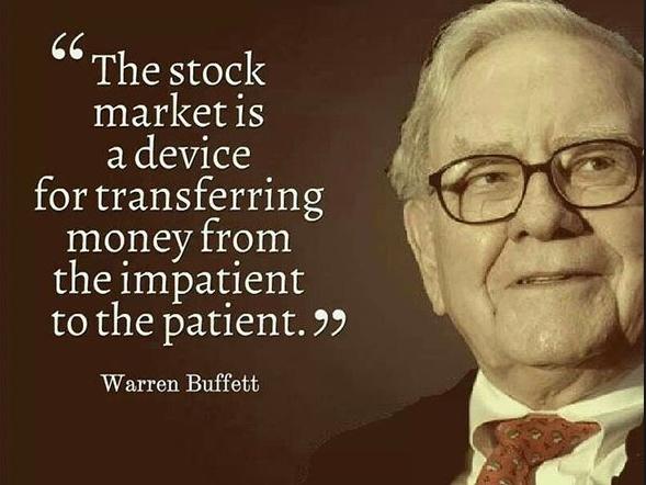 Patience - Words of wisdom from Warren Buffet