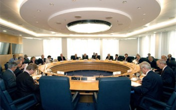 A meeting of the ECBSource: www.ecb.europa.eu