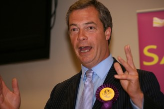 Nigel Farage, leader of the UK Independence Party