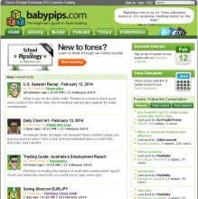 The Babypips.com home page