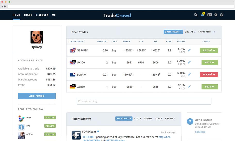 Trade cloud platform