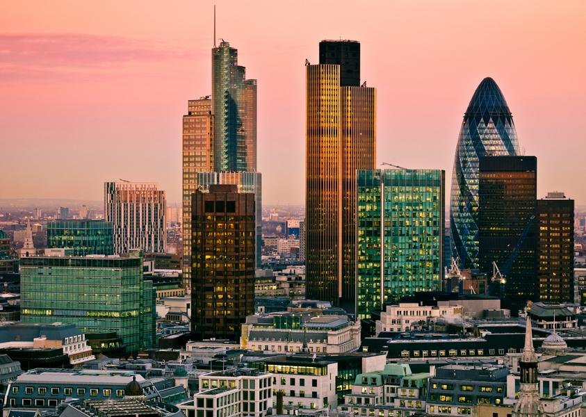 financial district London HedgeThink