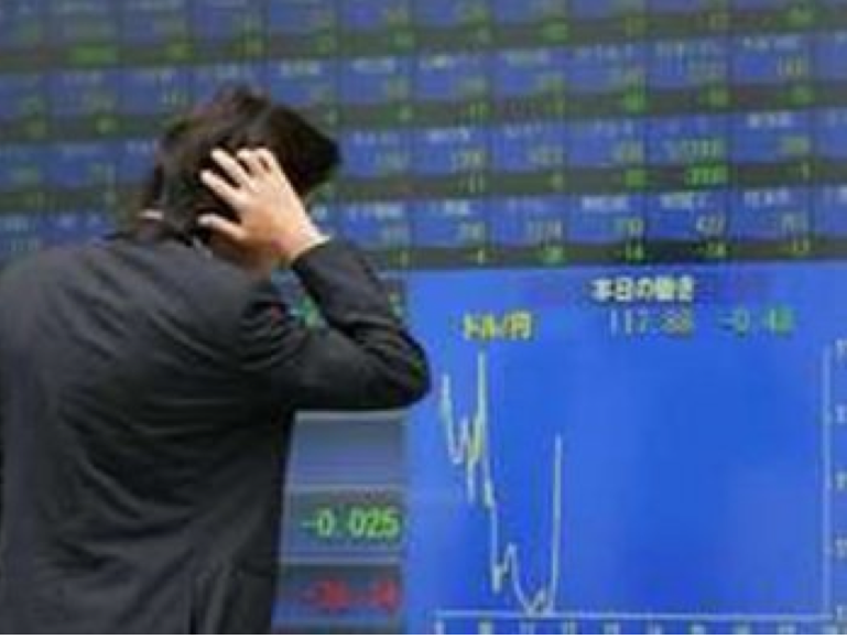 Nikkei index suffers worst plunge since 1987