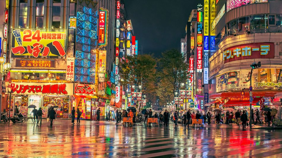 Tokyo Street Night Tradersdna