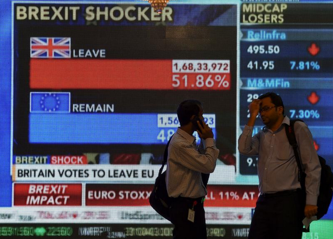 brexit shocker and oil prices