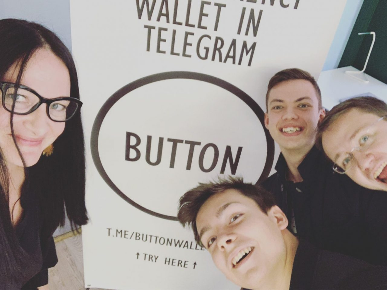 From now on Button's multi-currency crypto wallet is built and comes pre-installed on Telegram messenger